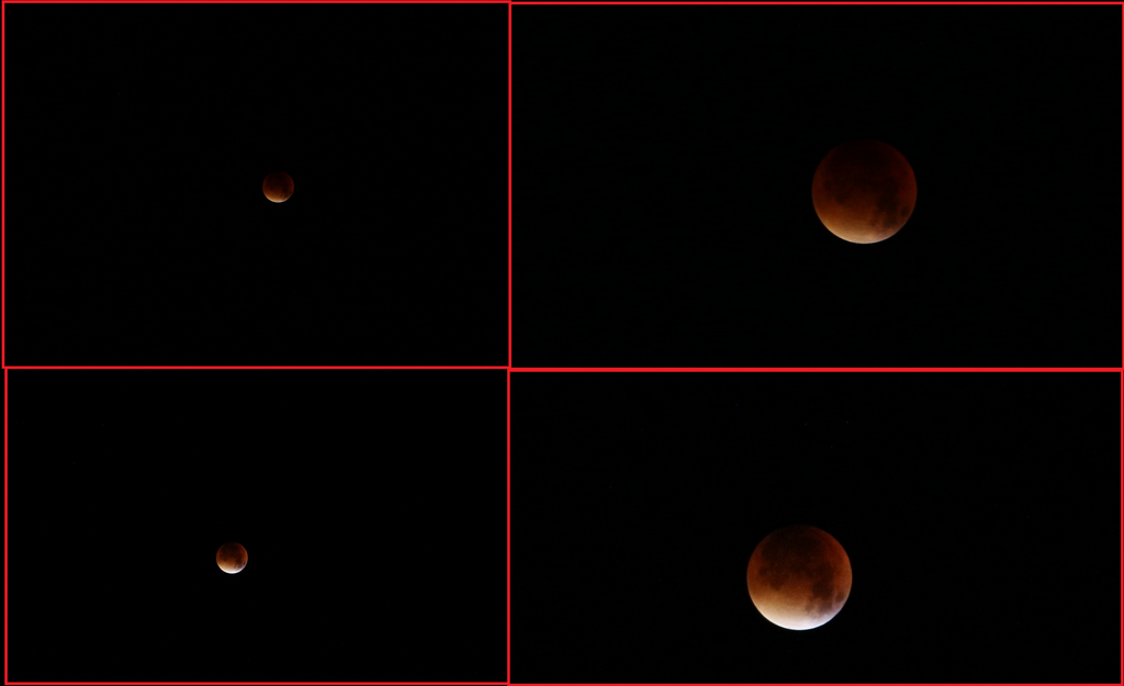 Supermoon eclipse blood moon 28. September 2015 by GmanCommand