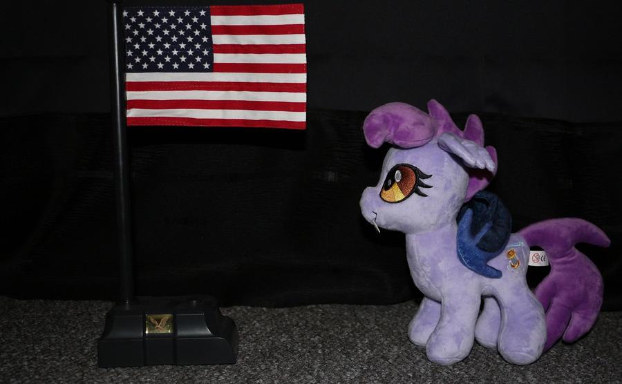 Night Stitch looking up to America by GmanCommand