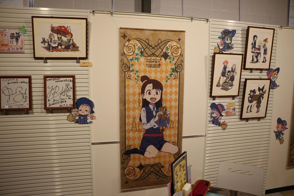 Tokyo Japan 2017 Akihabara AnimateCafe Akko by GmanCommand