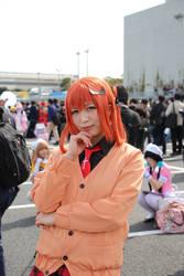 Gabriel DropOut Satania Cosplay Anime Japan by GmanCommand