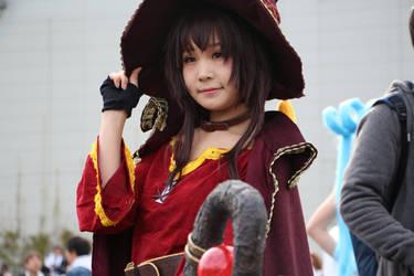 KonoSuba Megumin Cosplay Anime Japan 2018 by GmanCommand