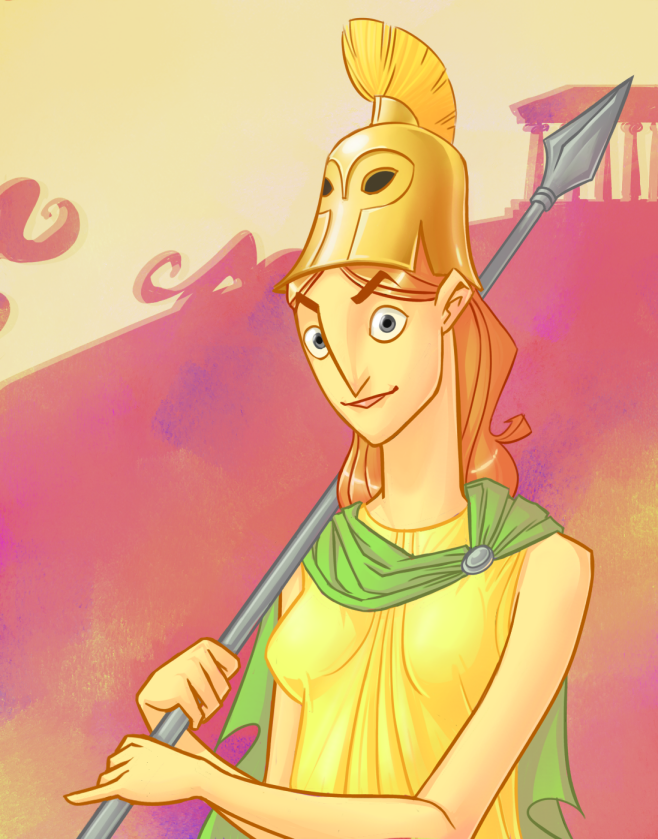 Athena by omgdragonfly