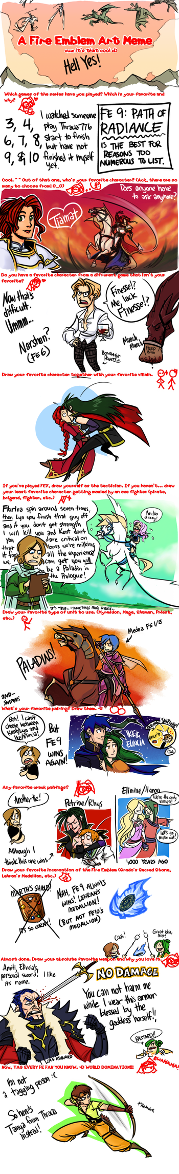 Fire Emblem Meme by omgdragonfly