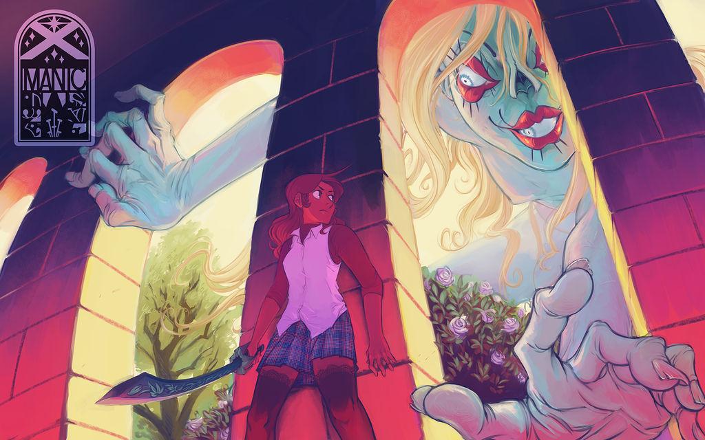 X-Manic: Portia vs Ghost