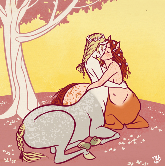 Centaurs by omgdragonfly