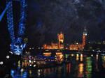 Londres con Acrilico