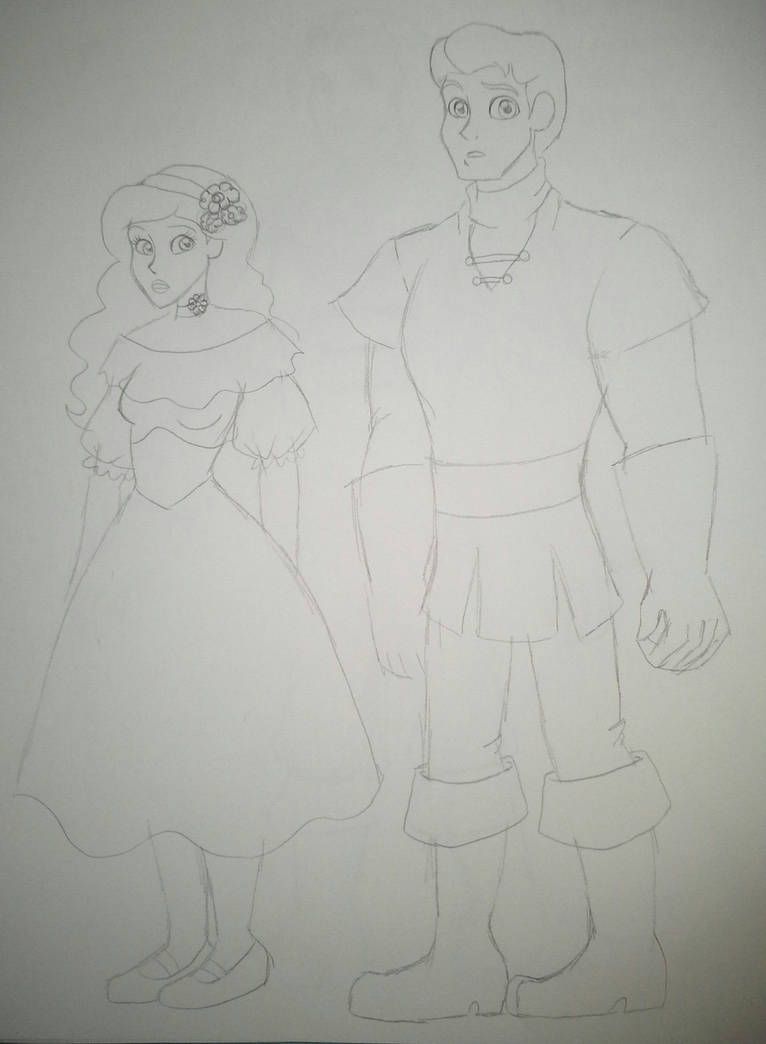 SDLM Twisted Tales - Peasent Fred and Daphne by TessaLovesOzzy