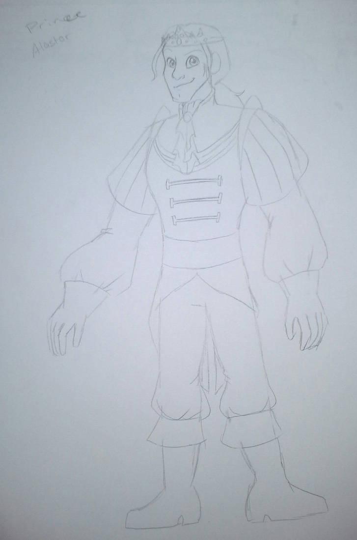 SDLM Twisted Tales - Prince Alastor by TessaLovesOzzy