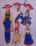 Jessie's Wardrobe (Toy Story) by TessaLovesOzzy