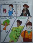 Disney Character Challenge