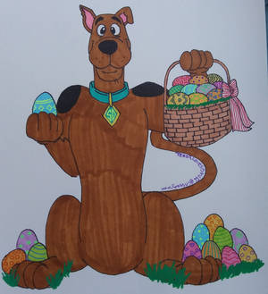 Easter with Scooby