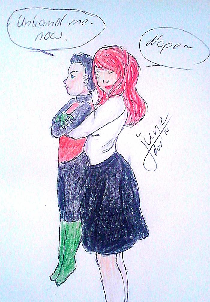 cuddly Damian by juneyleinchen