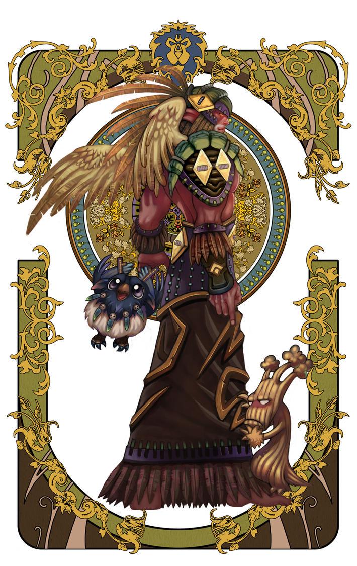 wow fan art page 2-2 by Angju