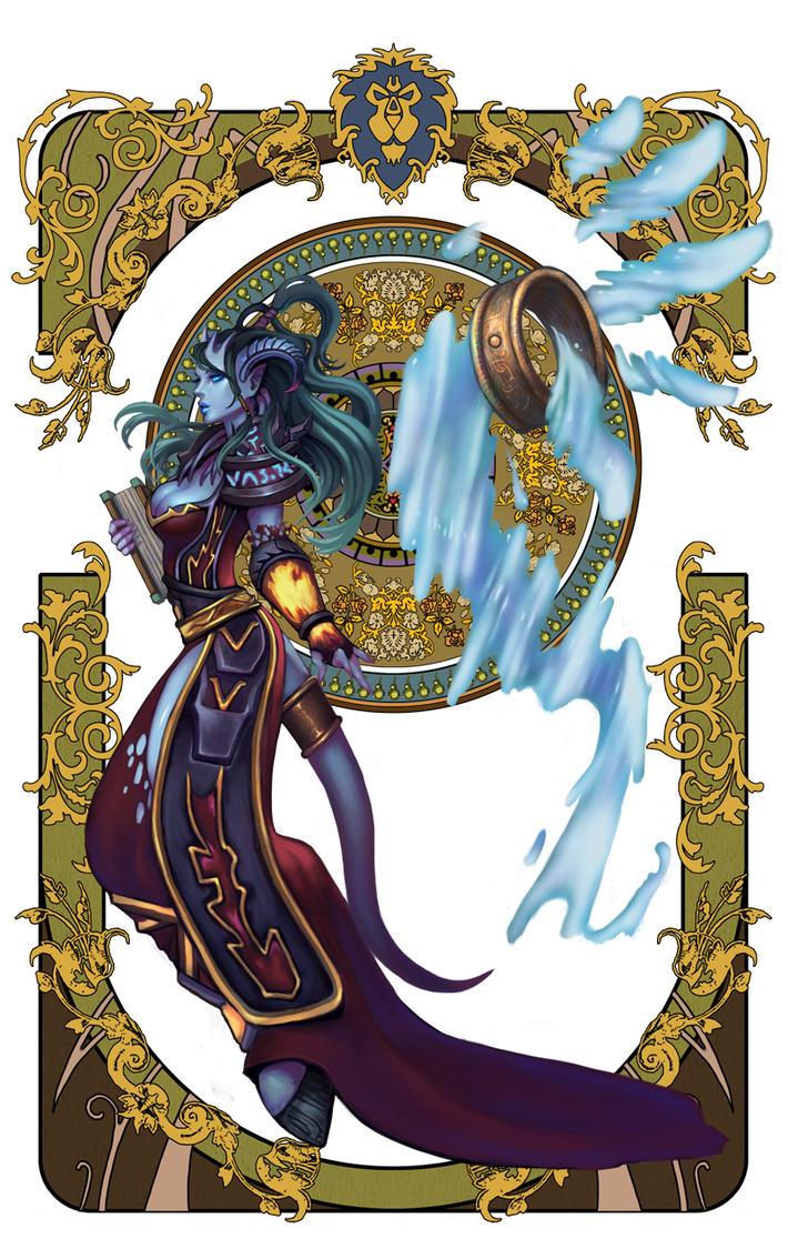 wow fan art page 2-6 by Angju