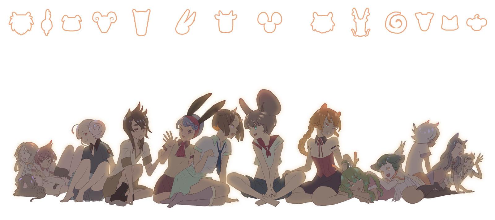 Chinese zodiac by Angju on DeviantArt