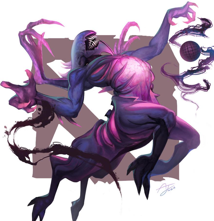 DOTA 2 No.3 Bane Elemental by Angju