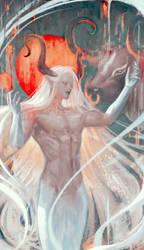 White cow god
