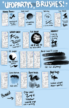 Ufoparty's Big Giant Brush Setting Guide