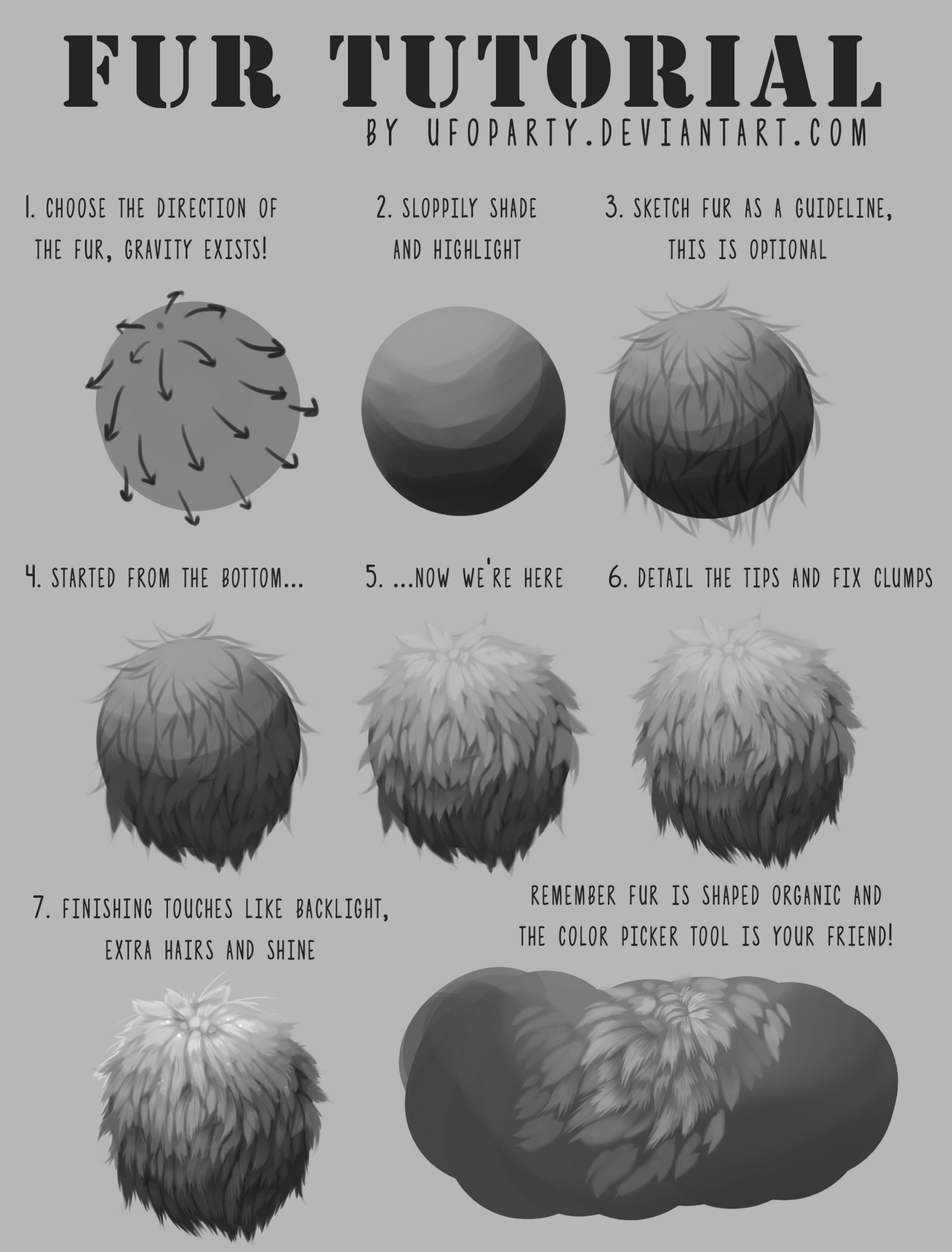 How To Paint Fur In Oils