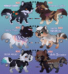 Adopts - Teeny Tiny Foxes ( OPEN ) LOWERED PRICES