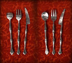 Choose Your Weapon for Dinner