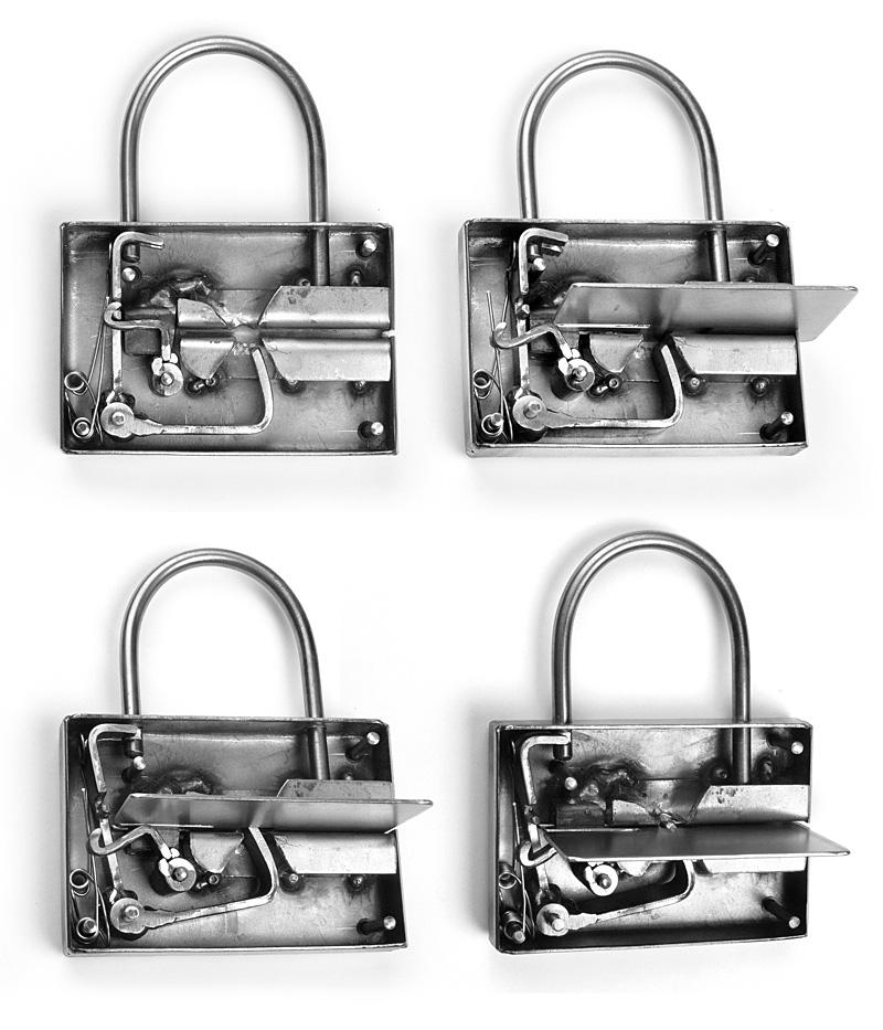 Inside look to Pad Lock by Rajala