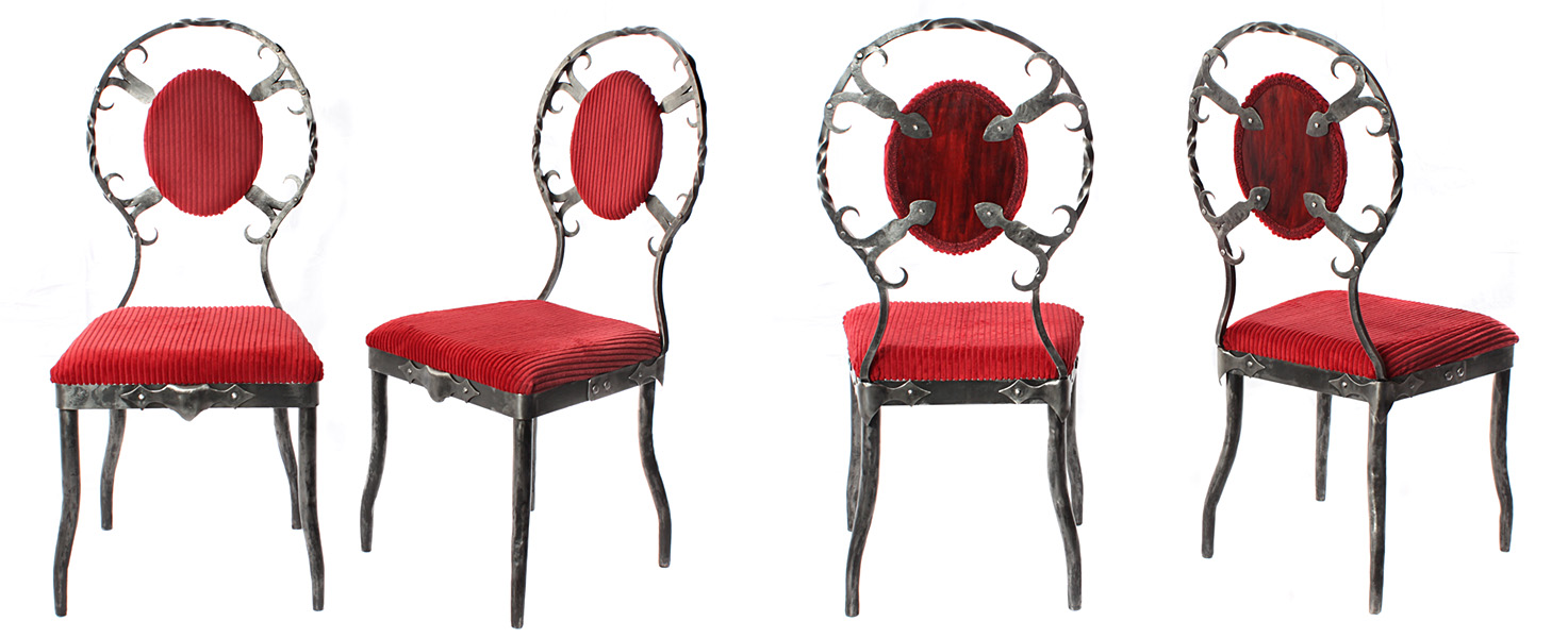 Metal Chairs by Rajala