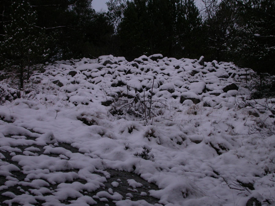 Snow-Covered Grave From Bronze Age by A-Pancake