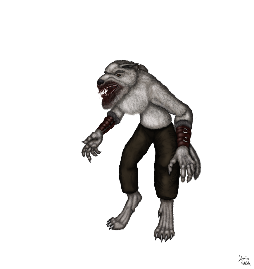 Ljotolfr's Ulfhednar Form (Werewolf): Model by A-Pancake