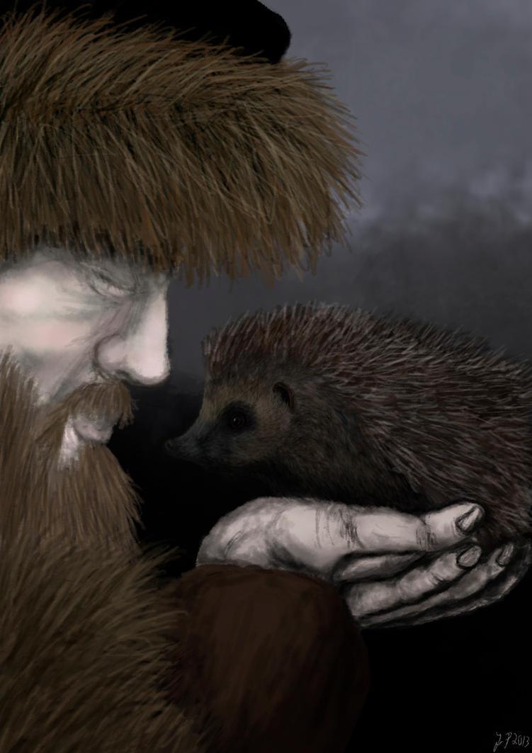 Speedpaint Challenge - A Hedgehog by A-Pancake
