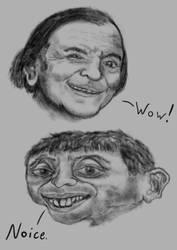Internet memes: Michael Rosen and Eddy Wally by A-Pancake