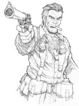 Eagleheart Sketch