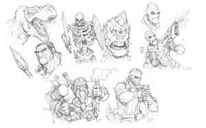 Daily Warmup Sketches 001 by Max-Dunbar