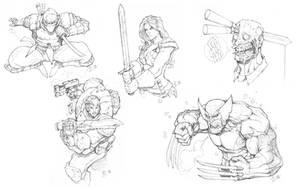 Daily Warmup Sketches 002 by Max-Dunbar