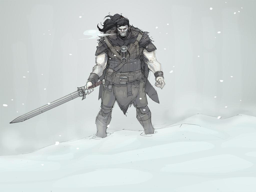 Viking Sketch by Max-Dunbar