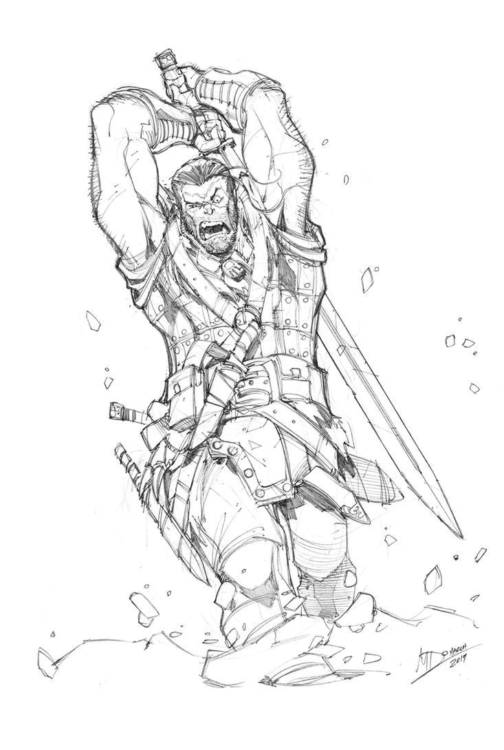 Angry Northman By Max Dunbar On Deviantart