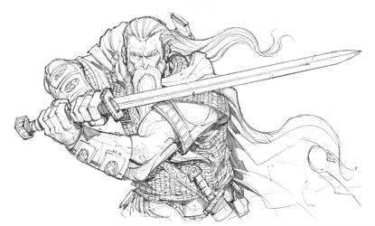 Blademaster pencils by Max-Dunbar