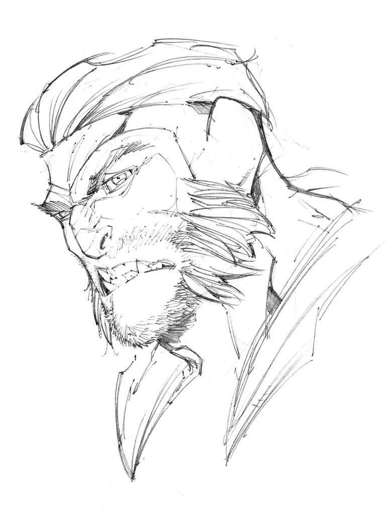 Sabretooth Sketch by Max-Dunbar