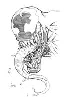Venom Sketch by Max-Dunbar