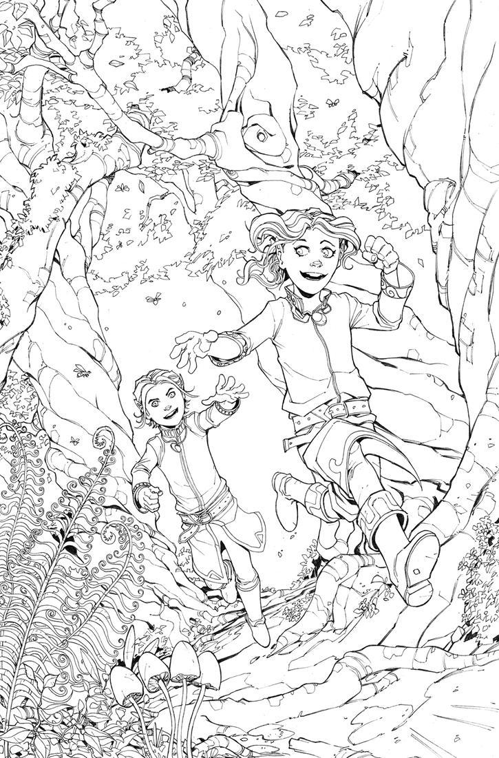 DnD Legends of Baldur's Gate issue 2 Page 1 by Max-Dunbar