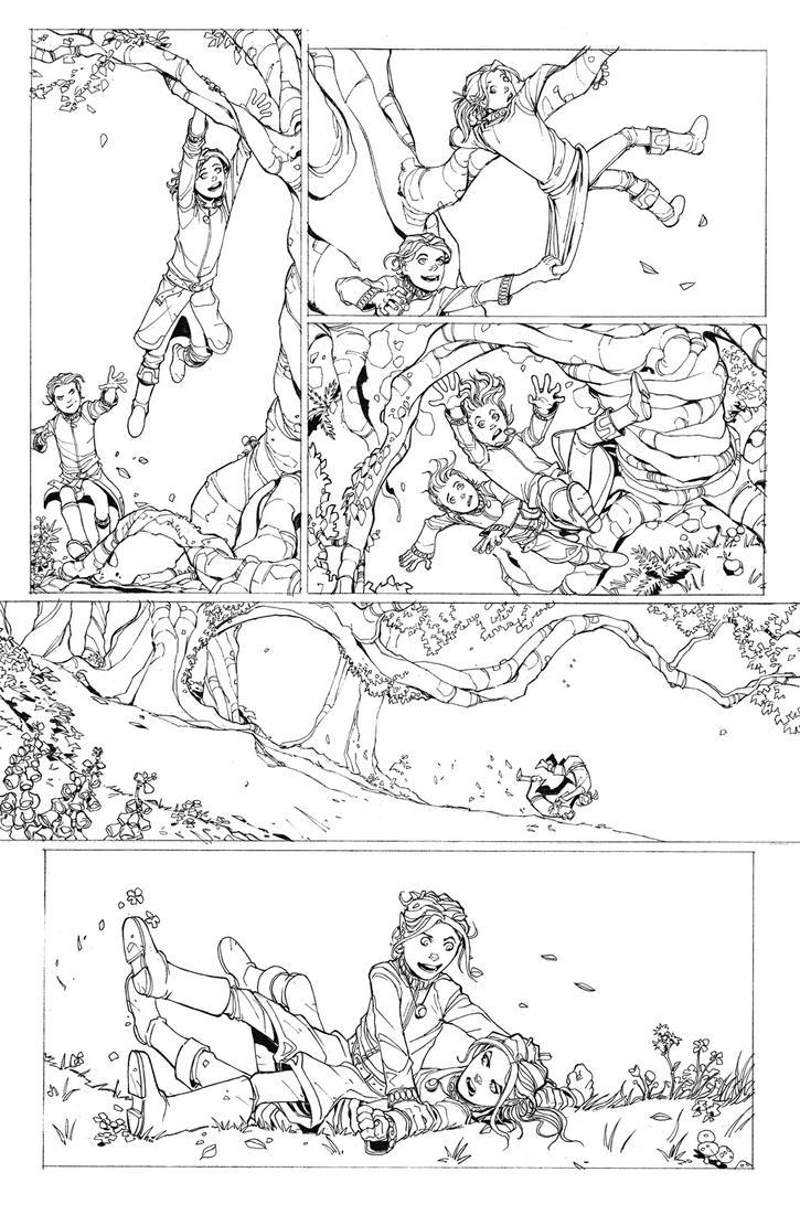 DnD Legends of Baldur's Gate issue 2 Page 2 by Max-Dunbar