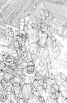 DnD Legends of Baldur's Gate issue 3 Cover