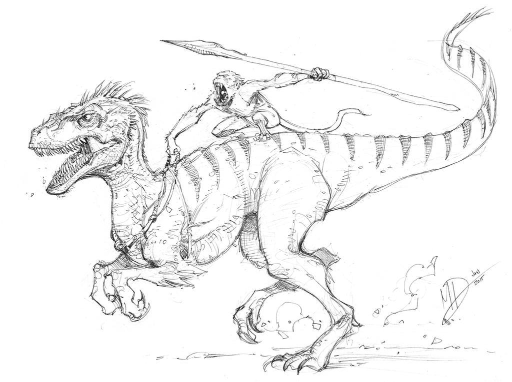 Line Art Dinosaur : Imaginary dinosaur by max dunbar on deviantart