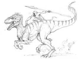Imaginary Dinosaur by Max-Dunbar