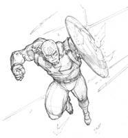 Captain America by Max-Dunbar