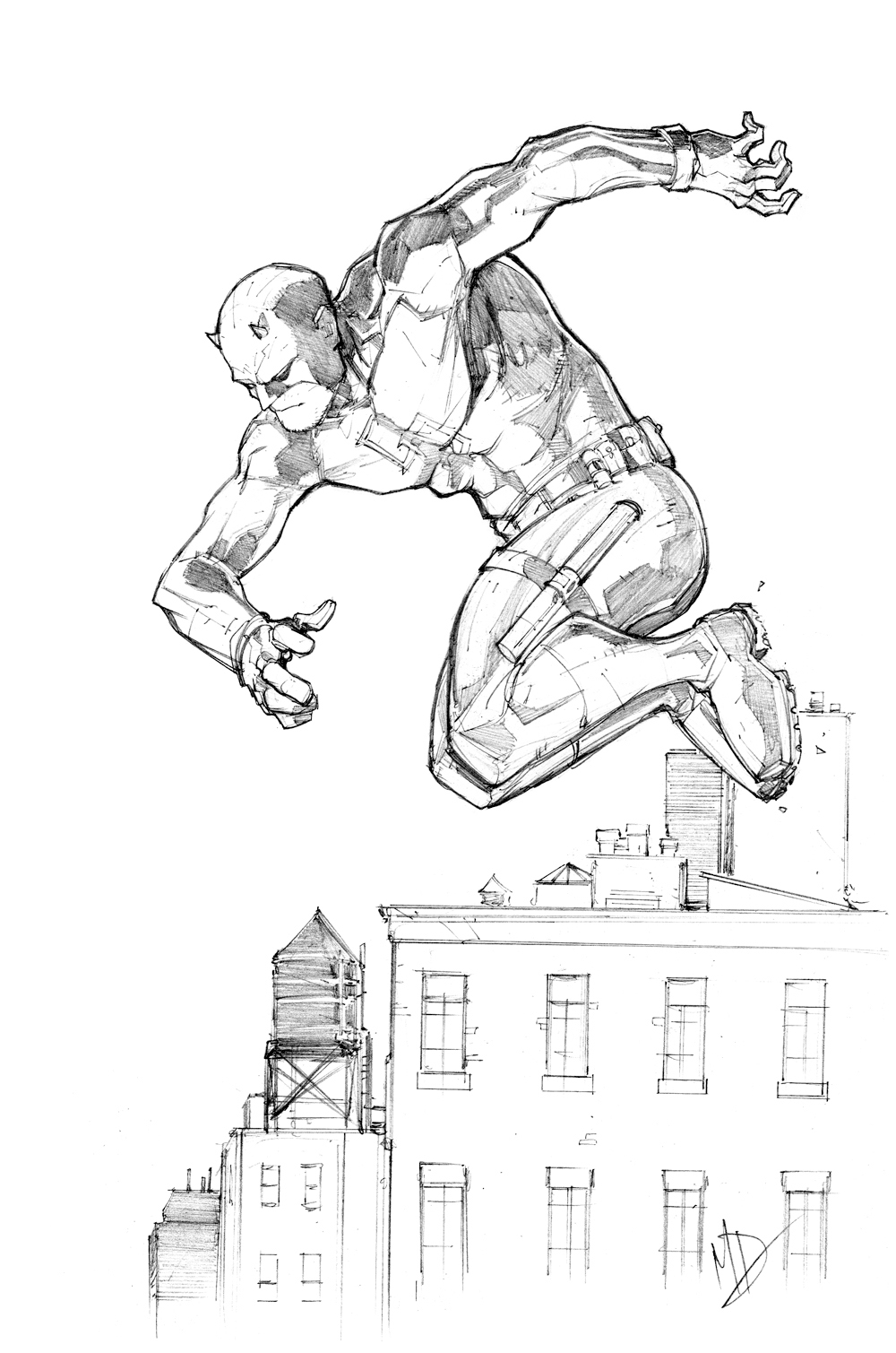 netflix daredevil coloring pages - photo#9