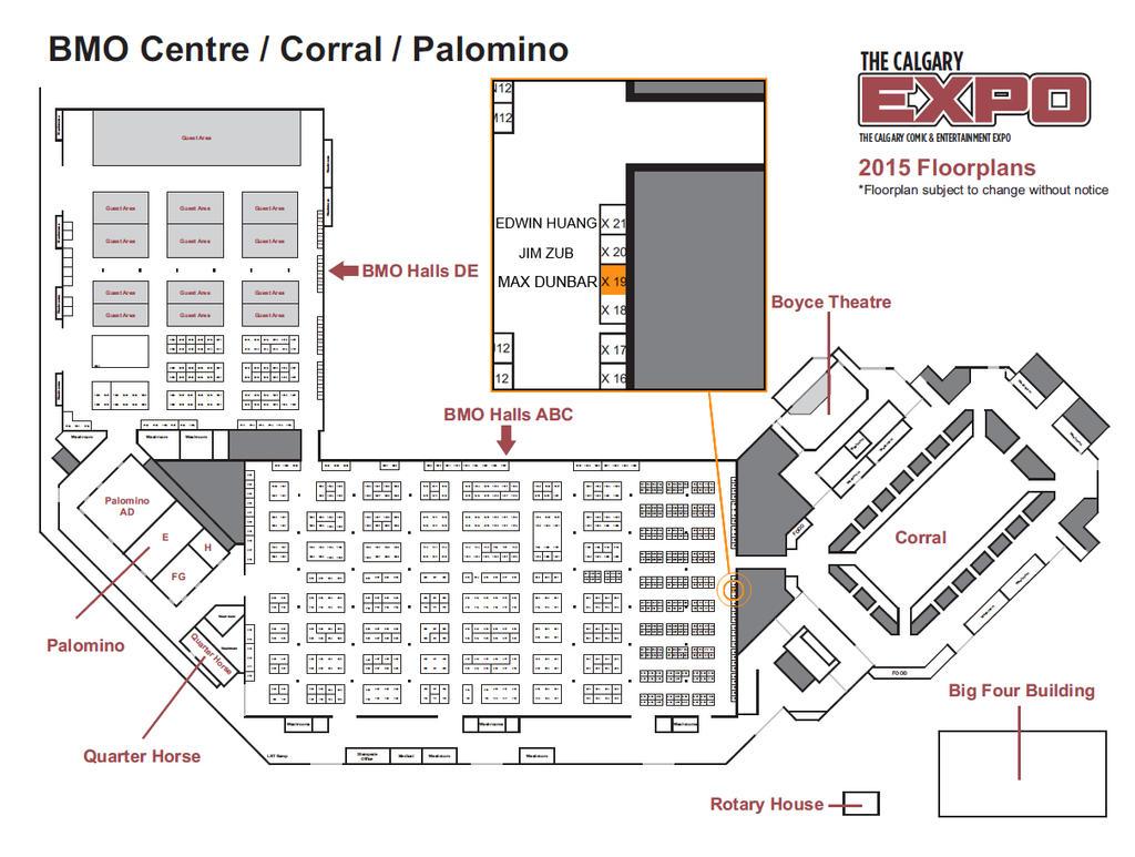Calgary Fan Expo booth X-19 by Max-Dunbar