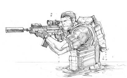 Punisher sketch 2