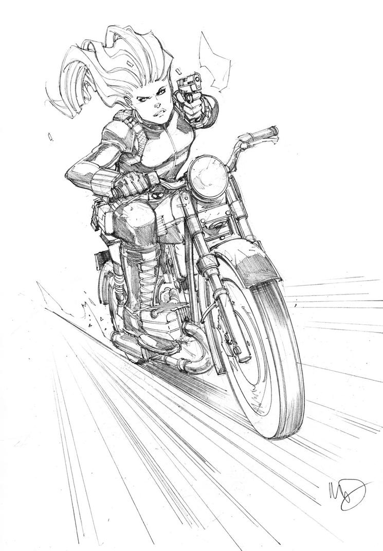 Black Widow Pursuit by Max-Dunbar
