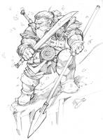 Snow Dwarf by Max-Dunbar
